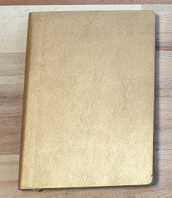 Gold A5 Flame Tree Notebook