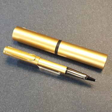Lamy Lx Rollerball Pen Gold