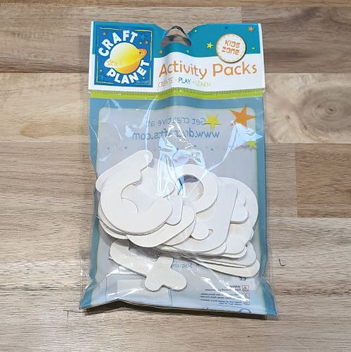 Craft Planet Activity Packs Letters