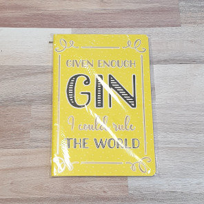 sass & belle Gin Time Rule the World A5 Notepad