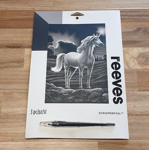 Reeves Scraperfoil 3 Pk Unicorn