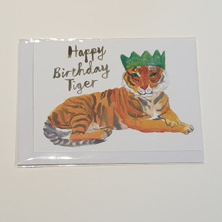 Rosie Webb Happy Birthday Tiger Card