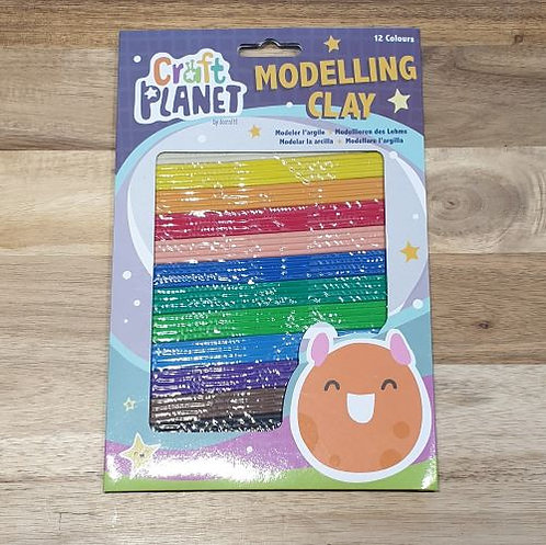 Craft Planet Modelling Clay 12 Colours