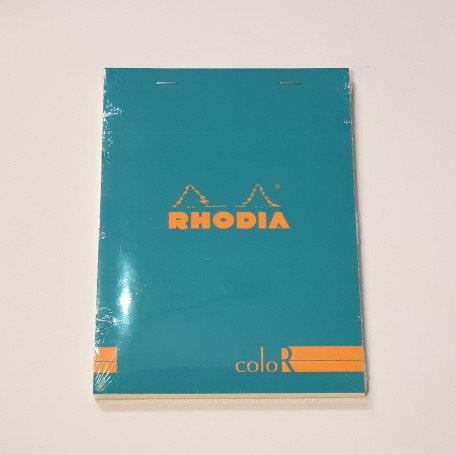 Rhodia Blue Bloc Colour No16 Lined Notebook