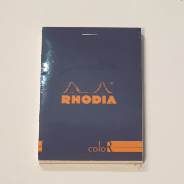 Rhodia Purple Bloc Colour No12 Lined Notebook