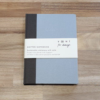 Vent for change Dotted Notebook