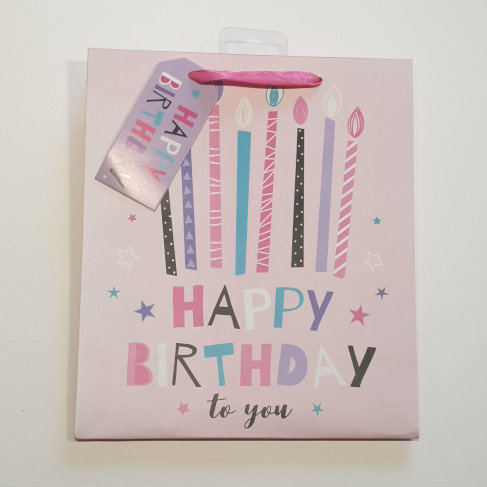 Paper World Happy Birthday to You Gift Bag