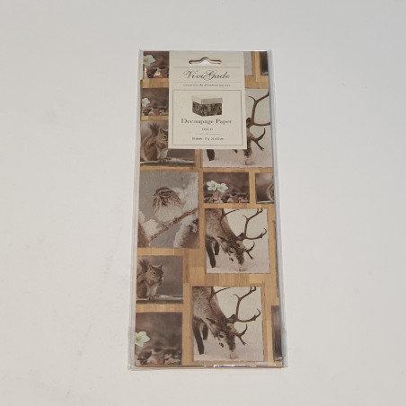 ViviGade Decopatch Paper 10 Sheets Oslo Nature