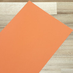 Smooth Coloured Card Orange A1 270gsm