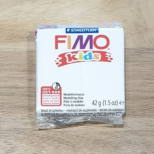 Fimo Kids Modelling Clay White
