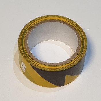 Q-Connect Hazard Tape 48mmx20m