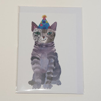 Rosie Webb Party Cat Card