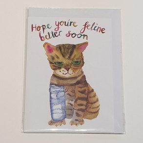Rosie Webb Feline Better Card