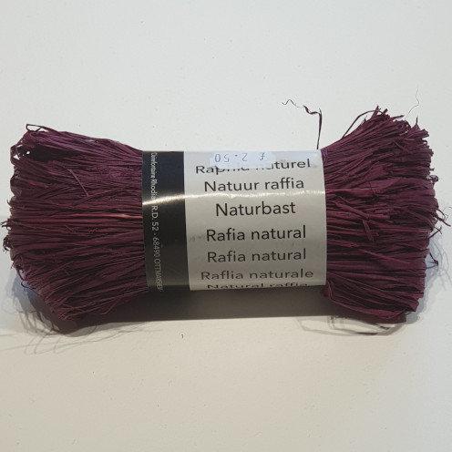 Clairefontaine Rhodia Natural Raffia 50g Purple