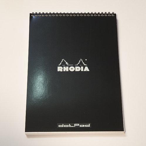 Rhodia Black Dotpad No18 21x29.7cm