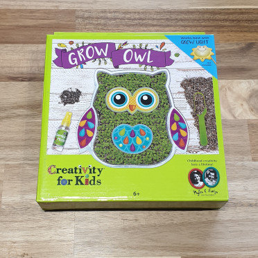 Creativity for Kids Grow Owl
