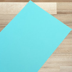 Smooth Coloured Card Sky Blue A4 270gsm