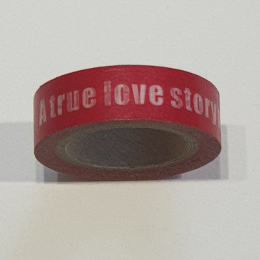 Washi Tape A True Love Story