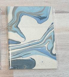Papermirchi Marbled B6 Blue