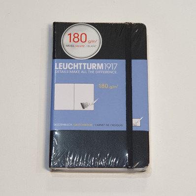 Leuchterm A6 Sketchbook Black