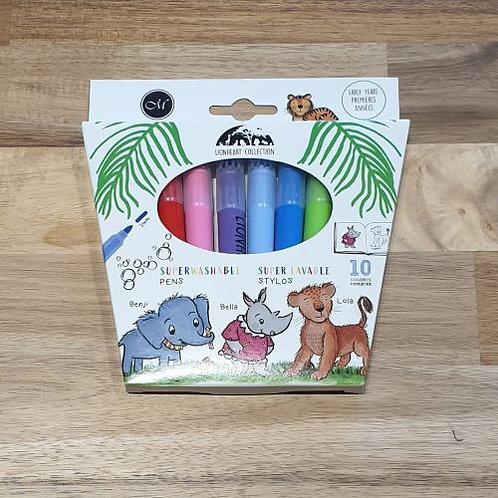 Lionheart Collection Superwashable Pens 10 Pk