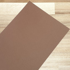 Smooth Coloured Card Brown A4 270gsm