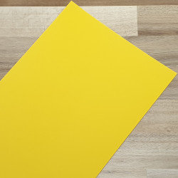 Smooth Coloured Card Lemon A1 120gsm