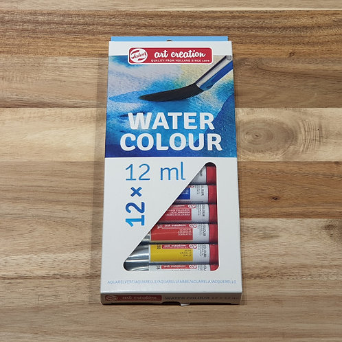 Art Creation Water Colour 12ml 12 Pk