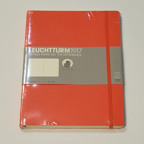 Leuchterm A4 Slim Softcover Notebook Orange