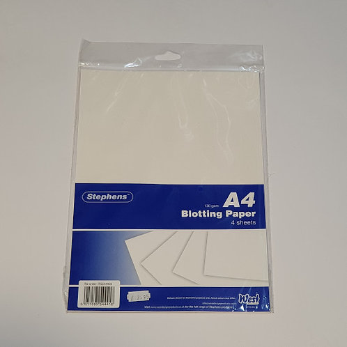 Stephens A4 Blotting Paper 4 Sheets