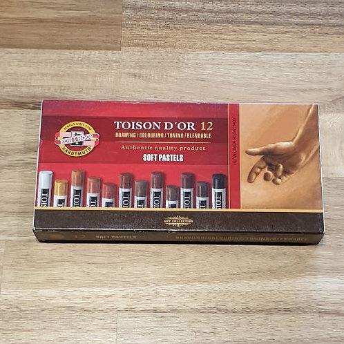 Toison D'Or Soft Pastels 12 Pk