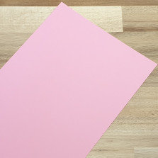 Smooth Coloured Card Pale Pink A1 270gsm