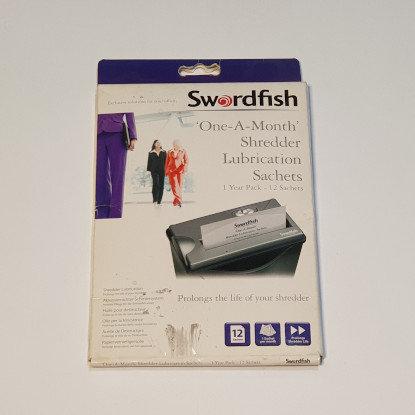 Shredder Lubricant Sachets 1 Year Pk