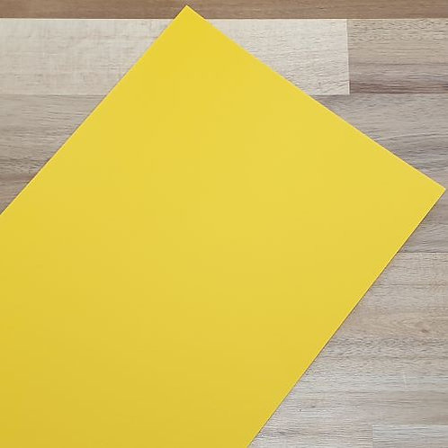 Smooth Coloured Card Intense Yellow A1 270gsm