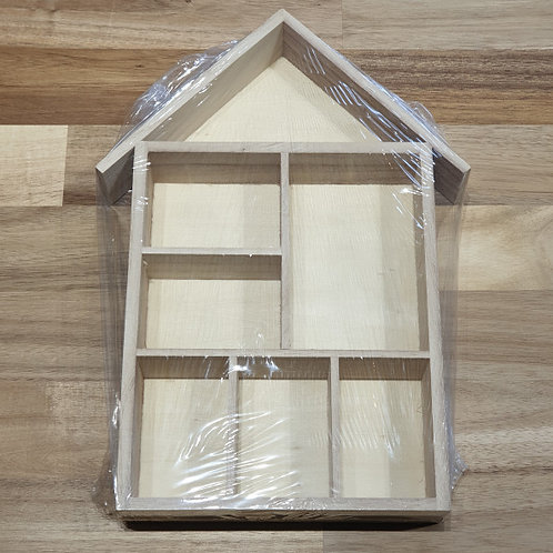Shelving System, Size 30x22x3,5cm Express Wood House