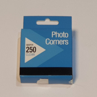 Clear Photo Corners 250 Pk