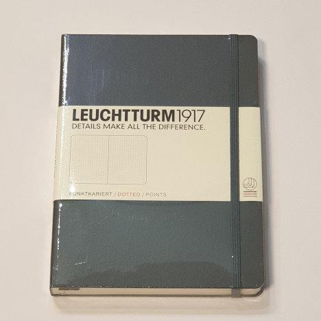 Leuchterm A5 Medium Notebook Hardback Grey
