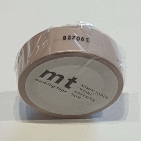 Masking Tape Pastel Brown