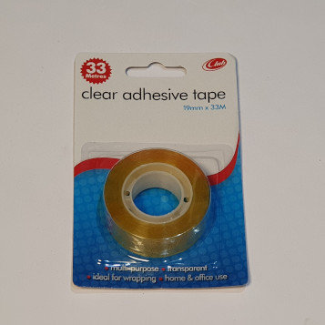 Clear Adhesive Tape 19mmx50m