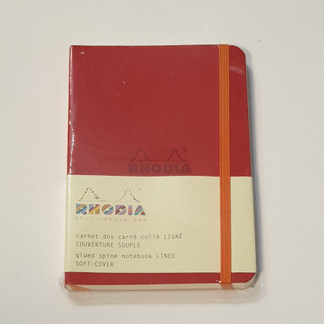 Rhodia Red Dot Grid Soft-Cover 10.5x14.8cm