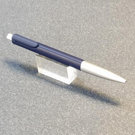 Lamy Noto Ballpoint Pen Blue Silver