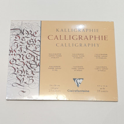 Clairfontaine Calligraphy 25 Sheets