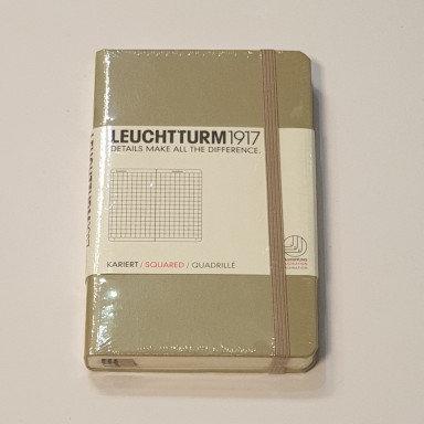 Leuchterm A6 Pocket Notebook Hardback Sand