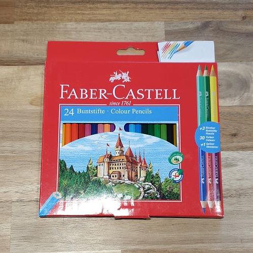 Faber-Castell 24 Colour Pencils
