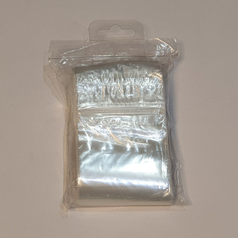 100 Minigrip Bags 75x85mm