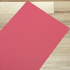 Smooth Coloured Card Burgundy A4 270gsm
