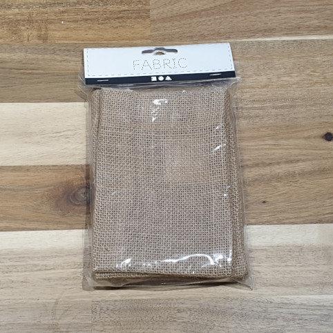 Jute Fabric Bag, Size 10x15cm