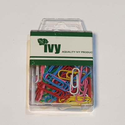 Ivy 75 Coloured Paperclips