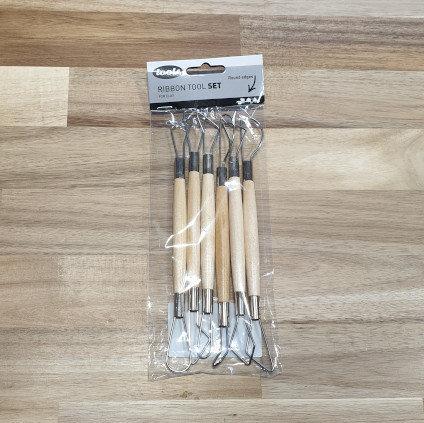tools Ribbon Tool Set for Clay