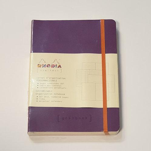 Rhodia Purple Soft-Cover Organisation Notebook 14.8x21cm